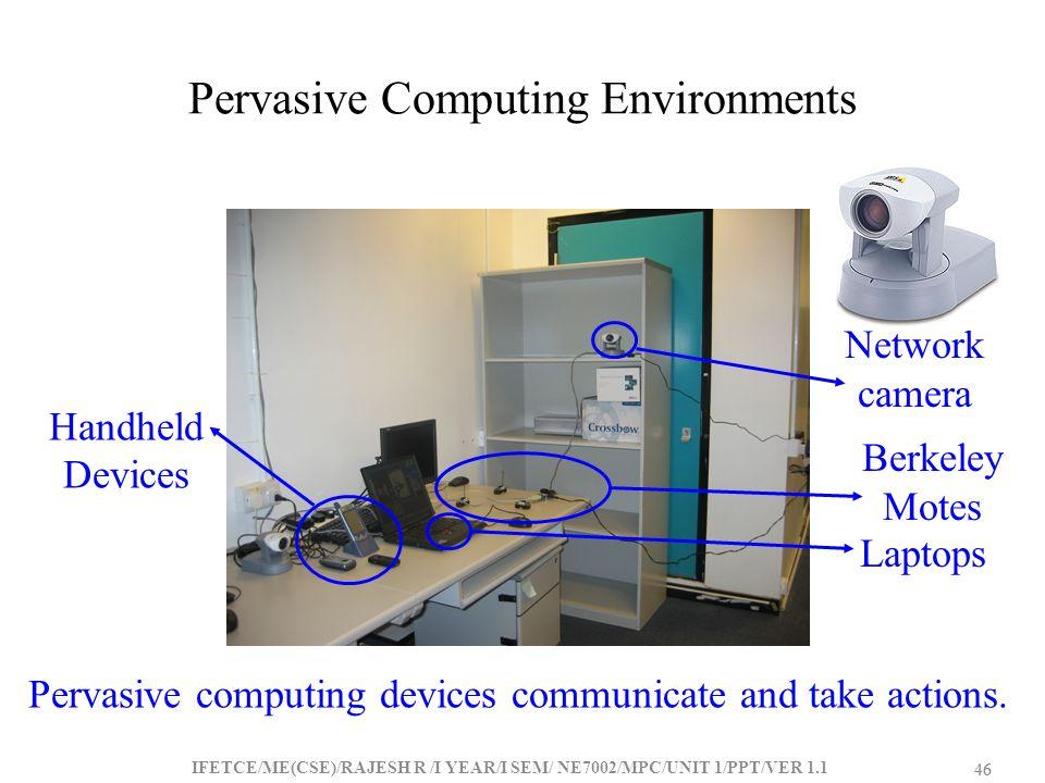 Pervasive Computing Environments