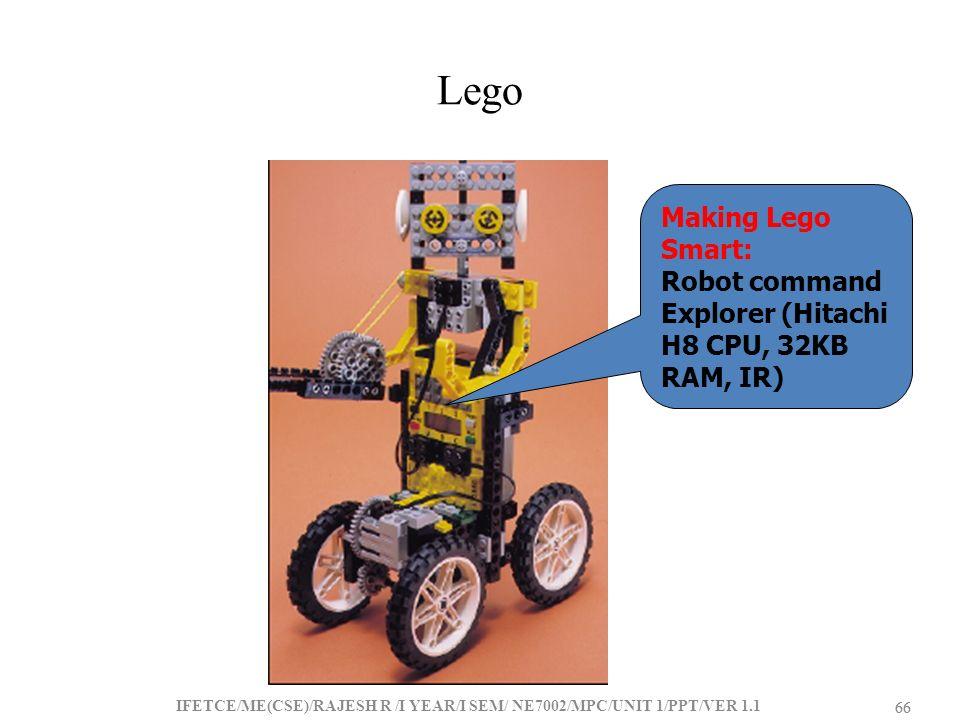 Lego Making Lego Smart: