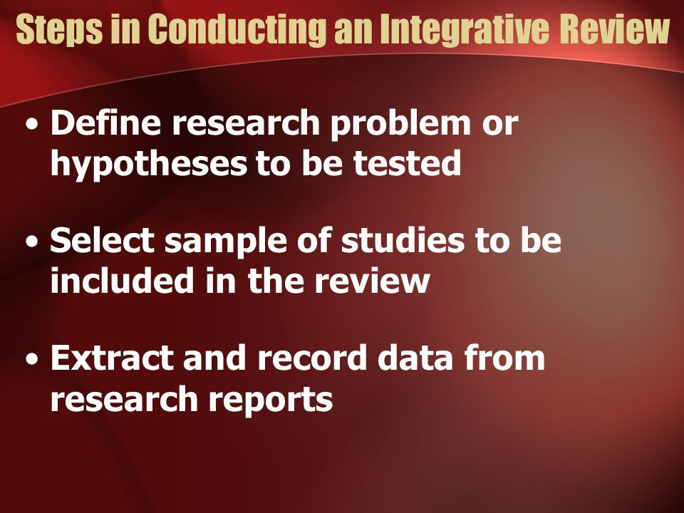 What steps are involved in conducting a research project?