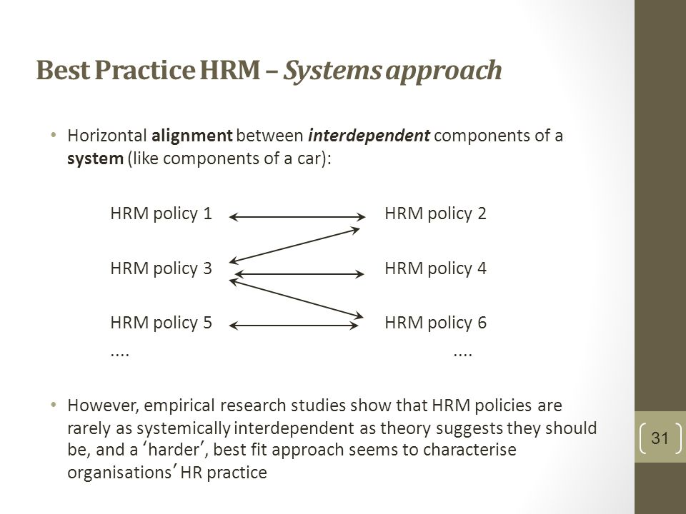 System Approach to Management: Definition, Features and Evaluation
