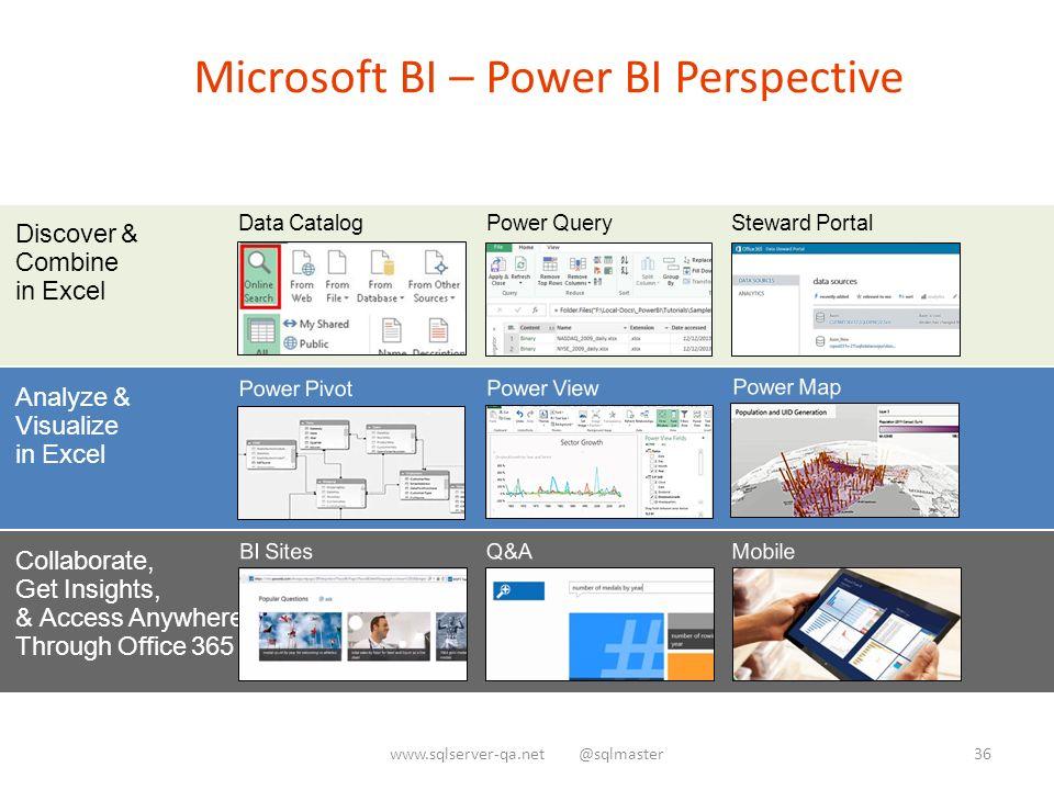 Microsoft Bi Power Bi Perspective