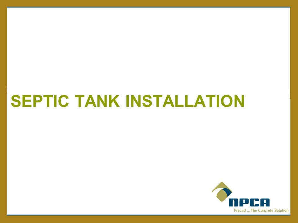 Precast Concrete Septic Tanks Ppt Video Online Download