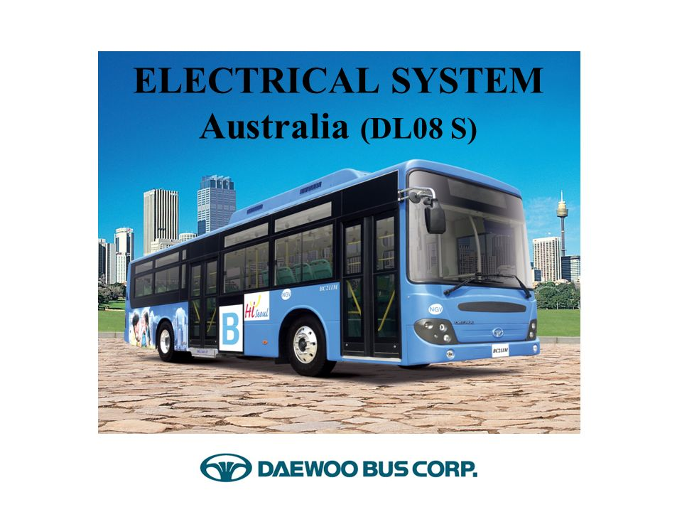 ELECTRICAL SYSTEM Australia (DL08 S) - ppt video online download