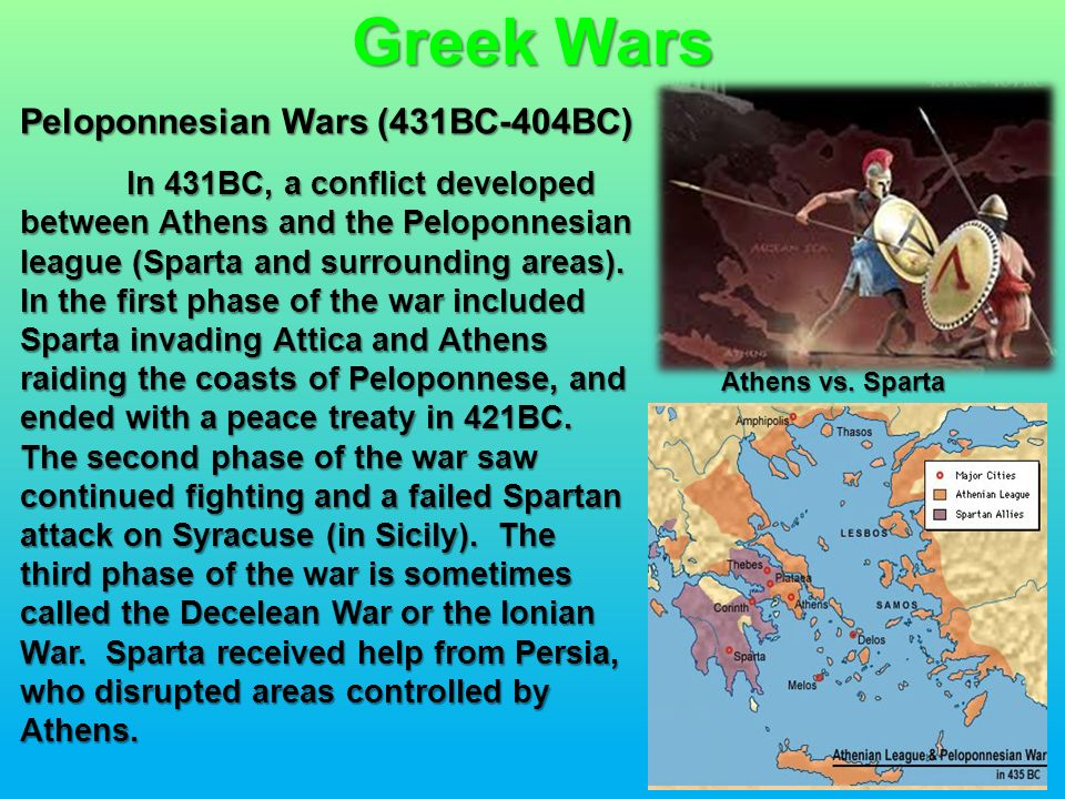 Overview of Ancient Greek War