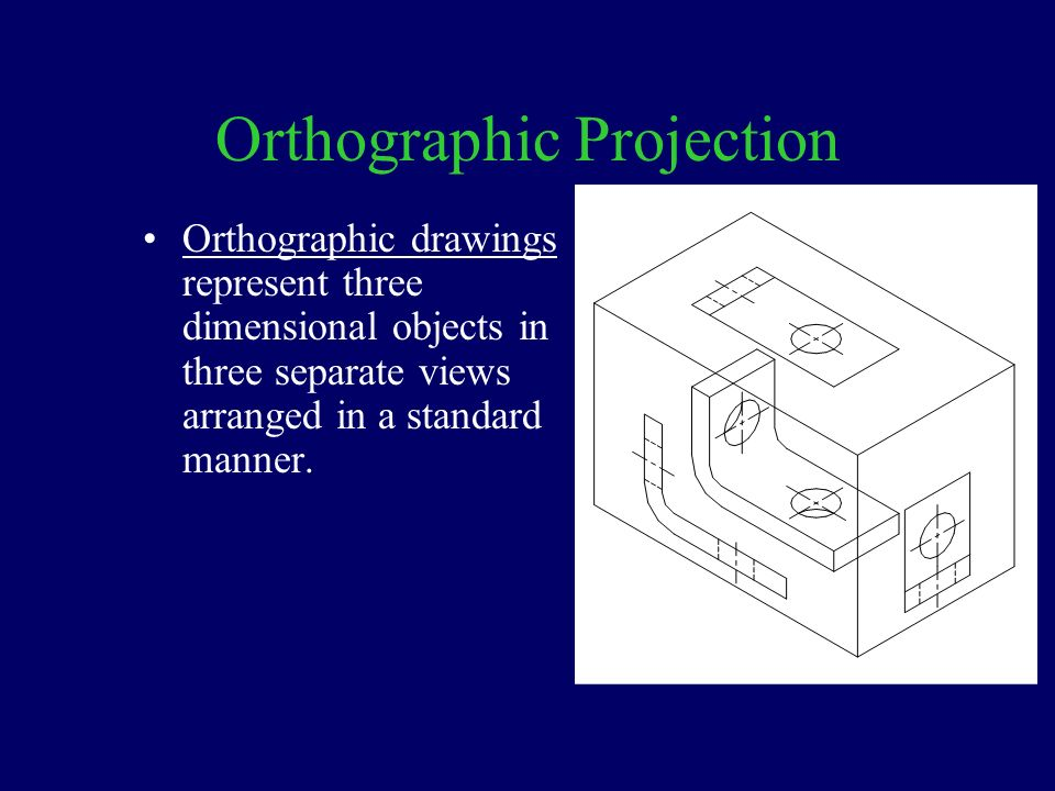 Orthographic projection ppt download for 3 dimensional drawing software
