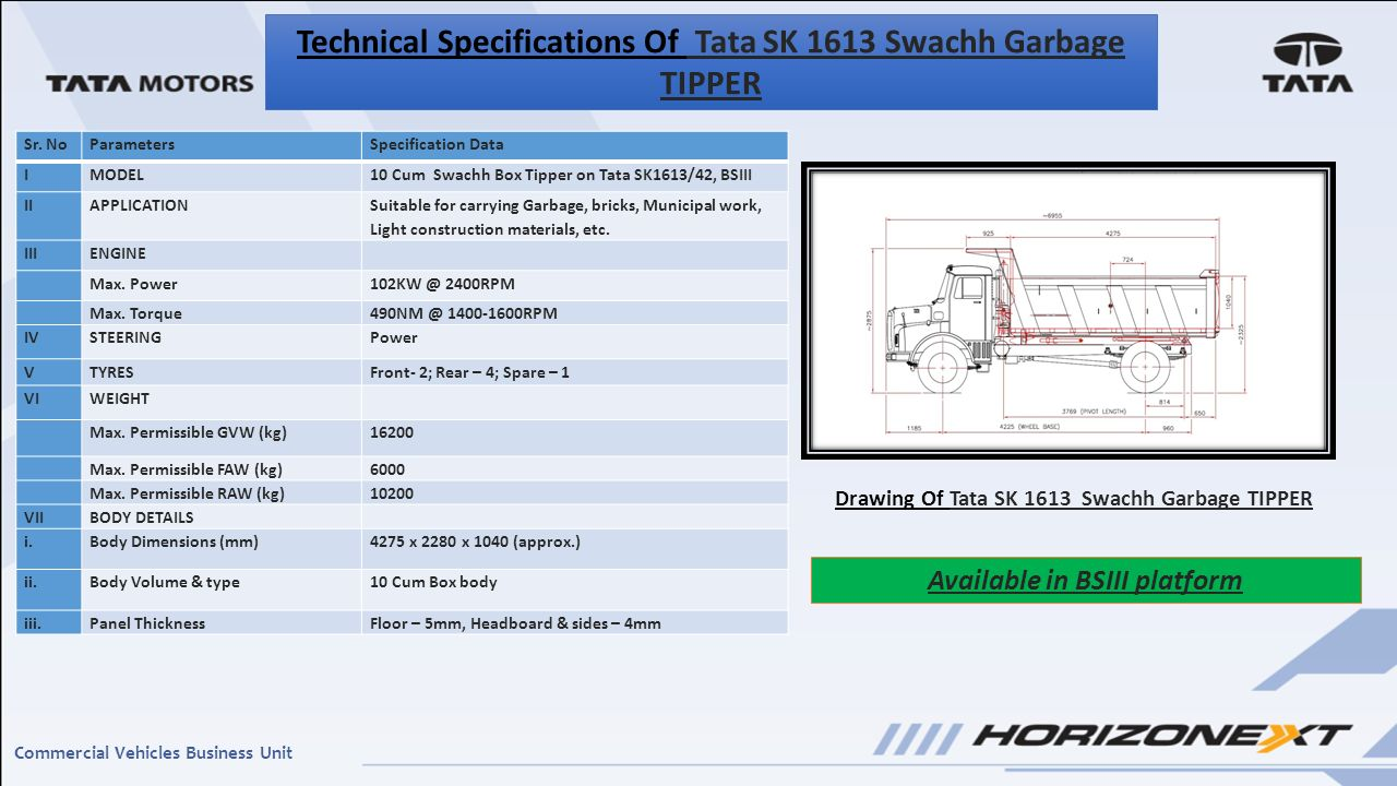 Garbage Compactor Truck Specification Lpt 1618 Refuse