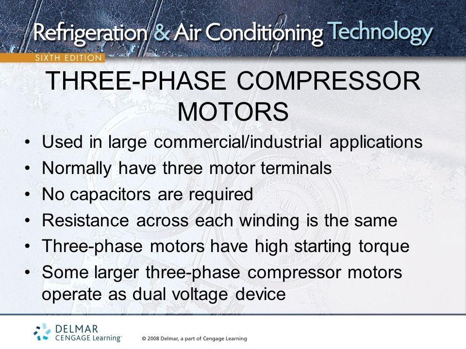 Motor winding resistance value for Three phase motor winding formula