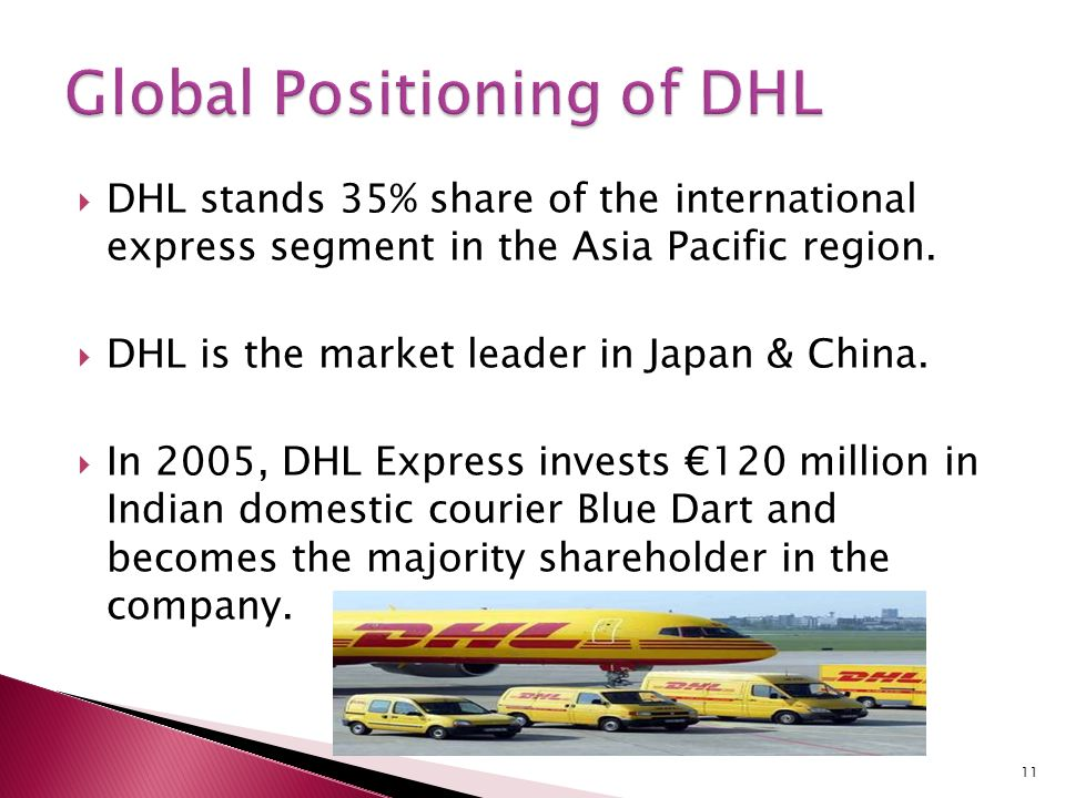 DHL International: Ambitious Competitor in Global ...