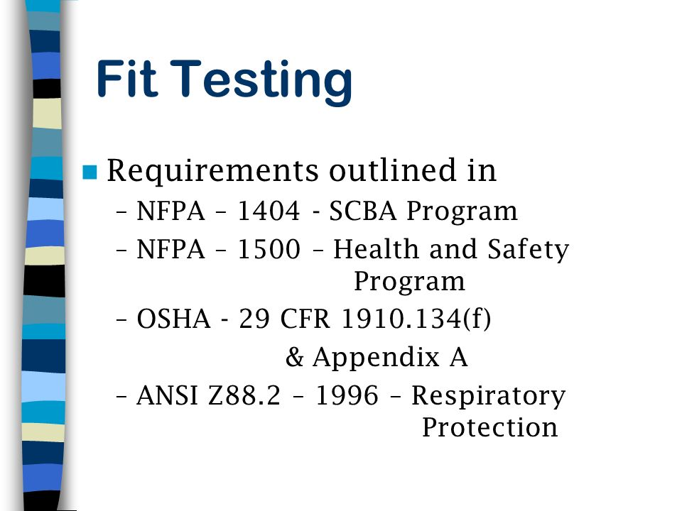 FIT TESTING. - ppt video online download