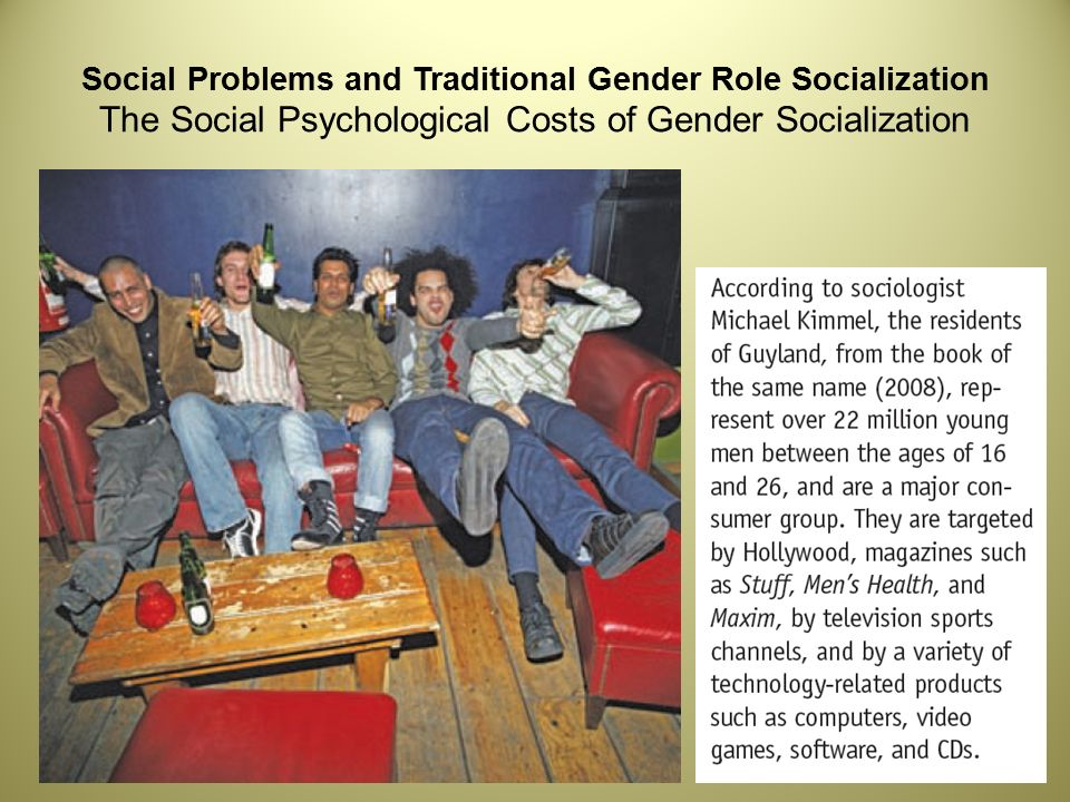 Gender Role Socialization Essay Samples