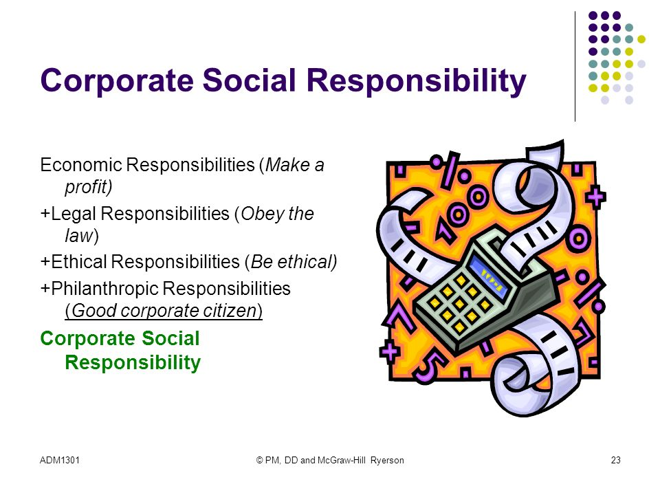 social and ethical responsibilities – ethical principles apply to all aspects of the employer-employee relationship the employer-employee relationship should not be looked at simply in economic terms.