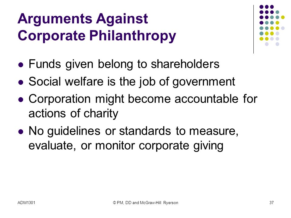 arguments for and against corporate social 1 analysis of the arguments for and againstcorporate social responsibilities in nigeria sunday c nwite senior lecturer department.