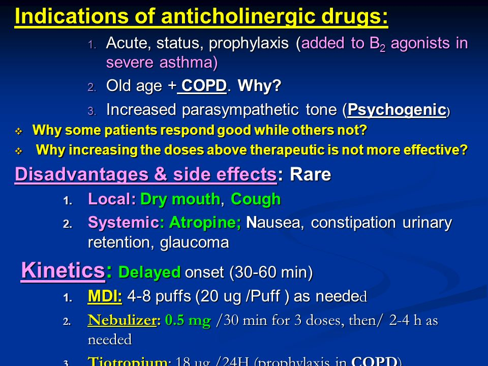 Drug Therapy Of Bronchial Asthma Ppt Video Online Download