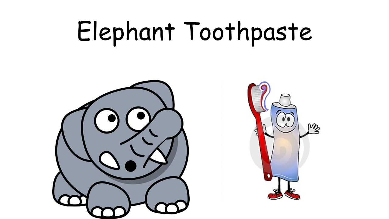 Elephant Toothpaste Ppt Video