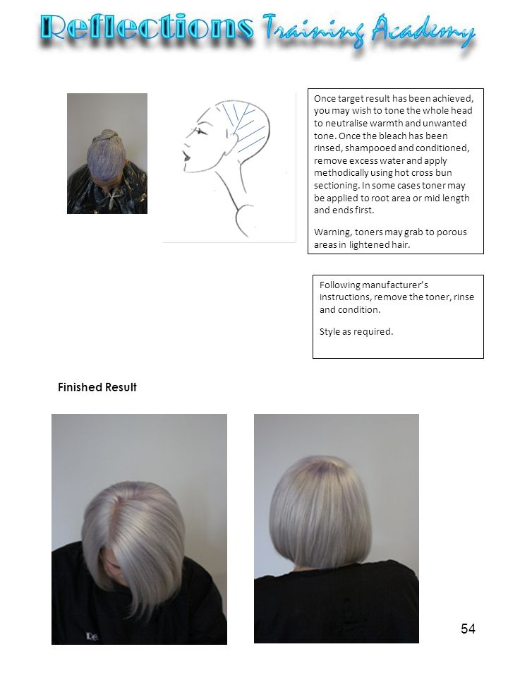 hair colour remover instructions
