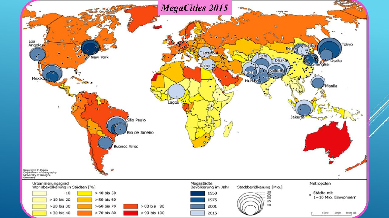 Urbanization mega city warfare and future technologies ppt download 5 megacities 2015 gumiabroncs Image collections