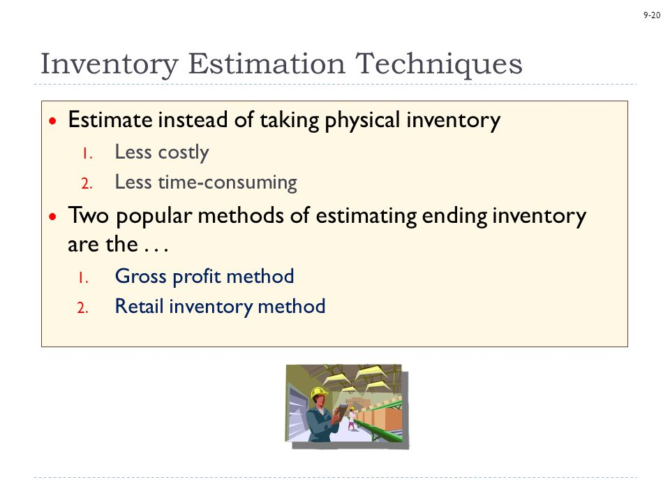 3 basic inventory techniques or cost 3 inventory management – basic inventory management mean methods that are used for organizing and the cost of holding inventory.