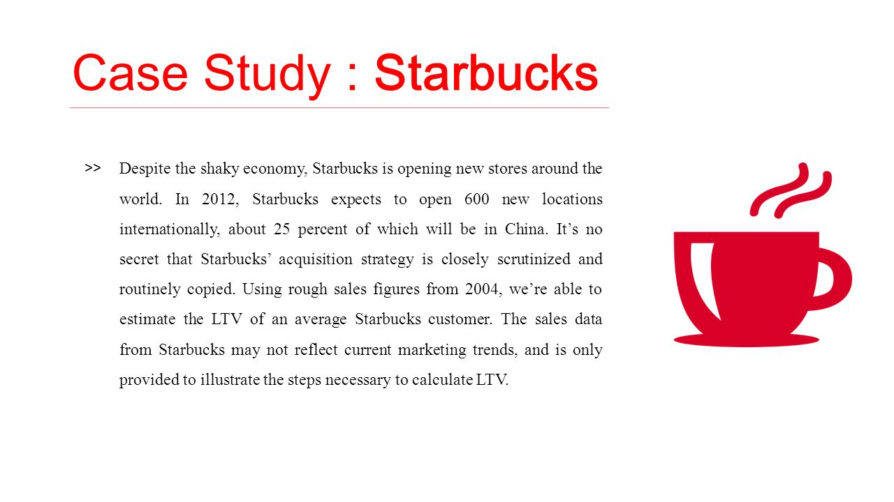 Free Starbucks Case Study Analysis | Case Study Template