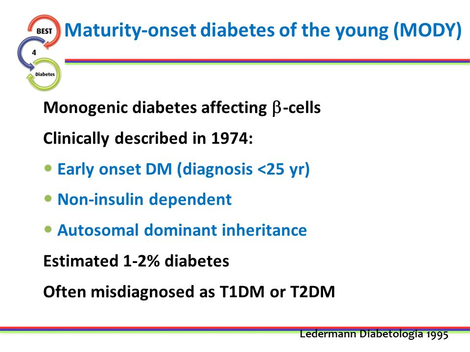 mature onset diabetes young
