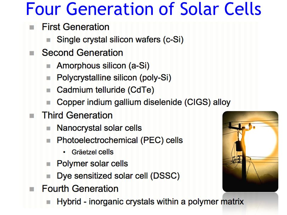 Introduction To Thin Film Cigs Solar Cells Ppt Video