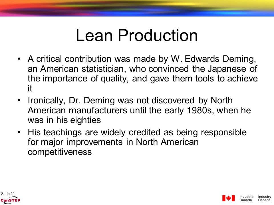 Comparison between lean and mass production Essay