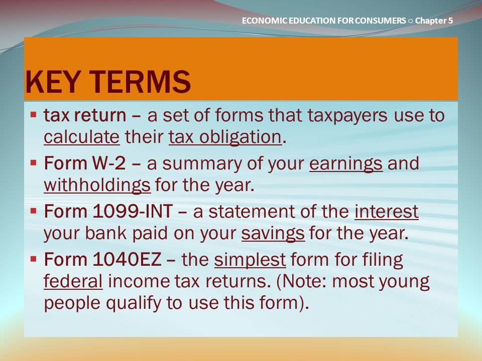 income tax return which form to use