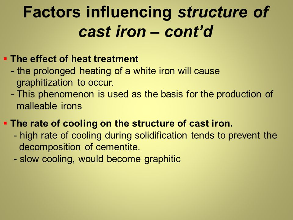 effect of alloying elements in cast iron pdf