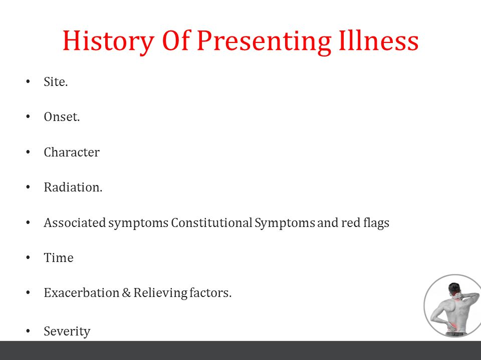 History Of Presenting Illness