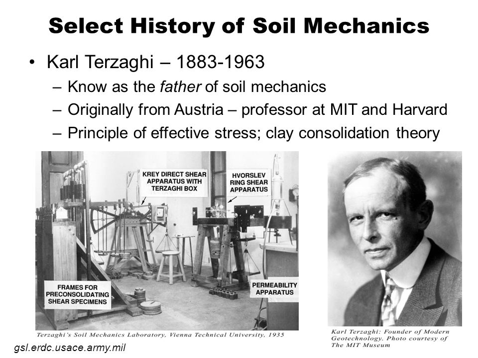 Gle cee 330 soil mechanics course introduction ppt for What is the origin of soil