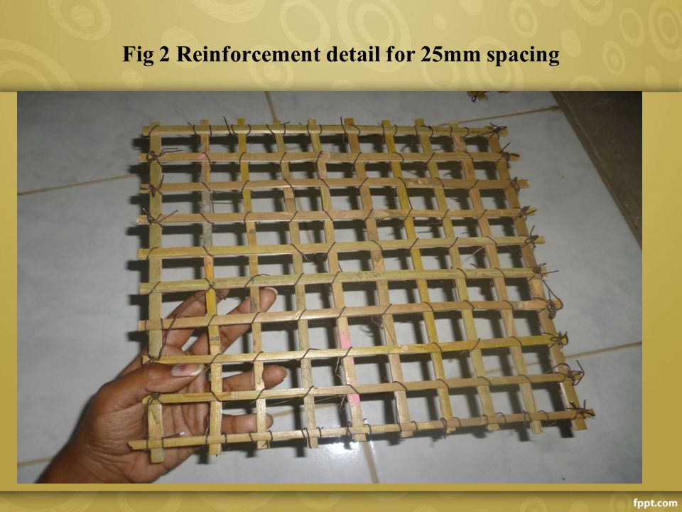 Rebar Detailing School : Bamboo reinforced concrete ppt video online download