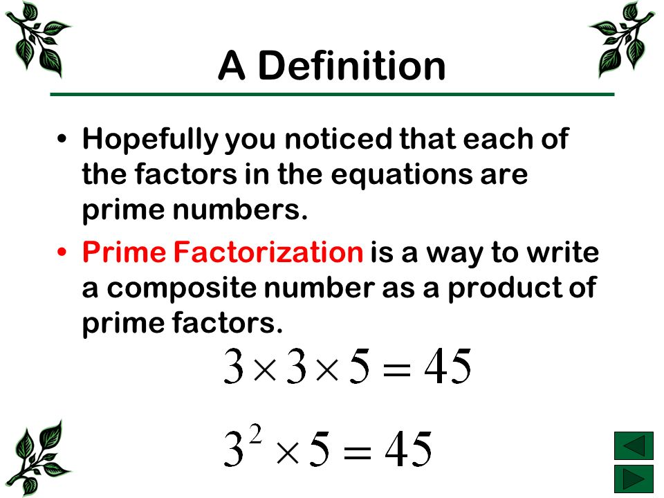 How to Do Prime Factorization