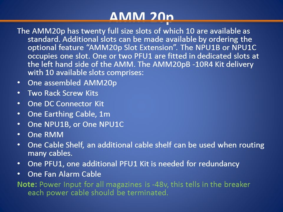 AMM 20p