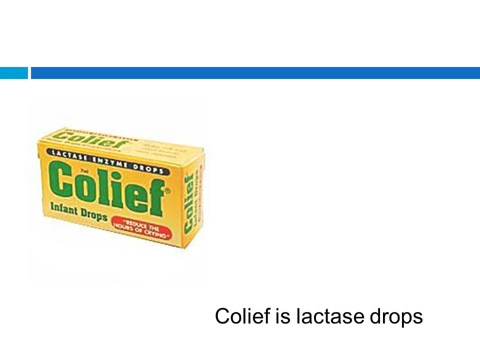 effect of colief infants drops lactose on intolerant babies Colief® infant drops aids digestion of lactose in milk in a baby temporarily unable to produce sufficient lactase to adequately digest the lactose in their feed for the first few months of life, some babies are temporarily unable to fully break down lactose, a complex sugar that is found in both breast and formula milk.