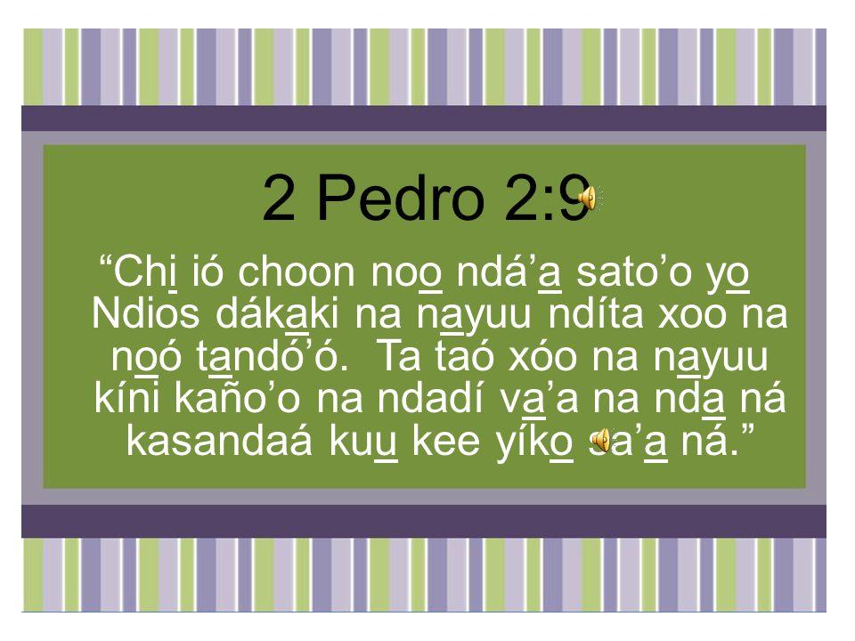 2 Pedro 2:9