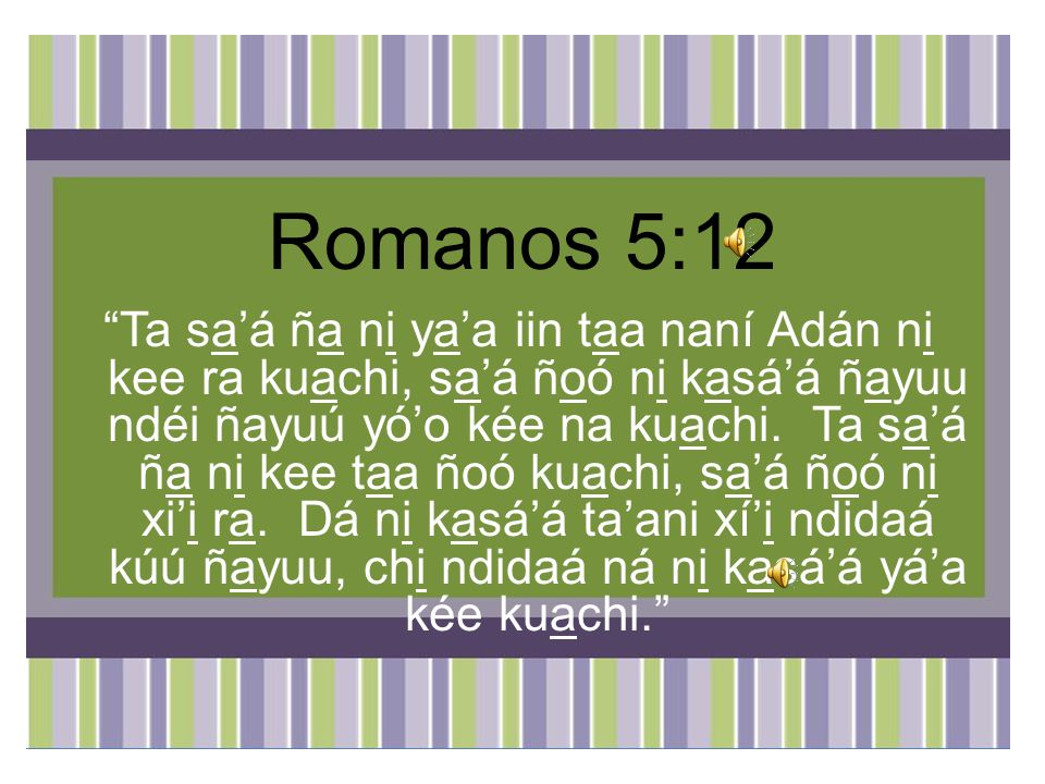 Romanos 5:12