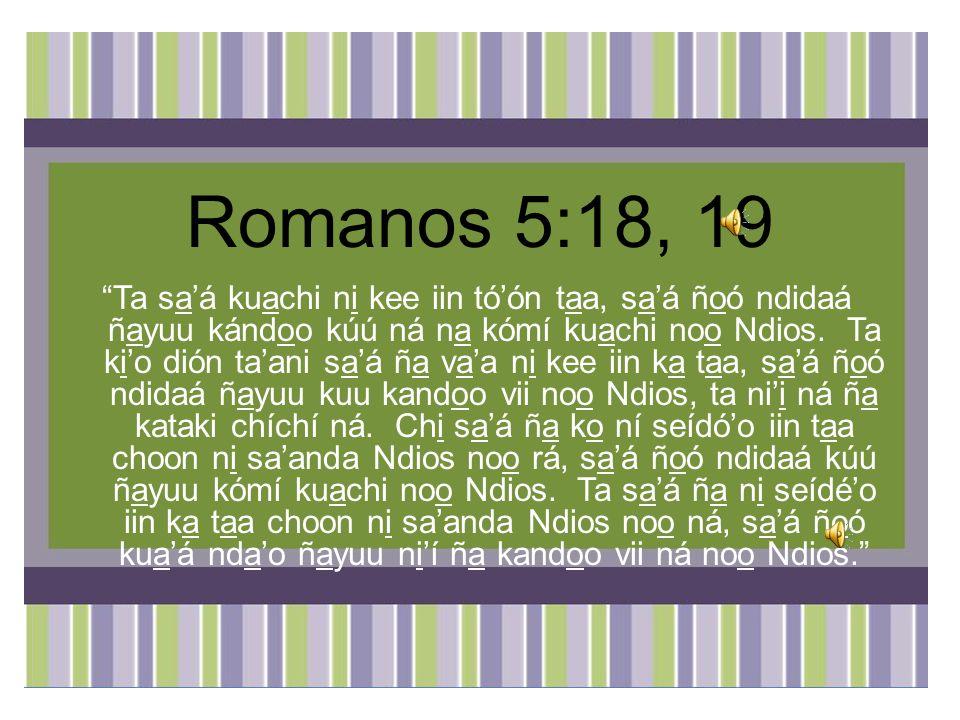 Romanos 5:18, 19