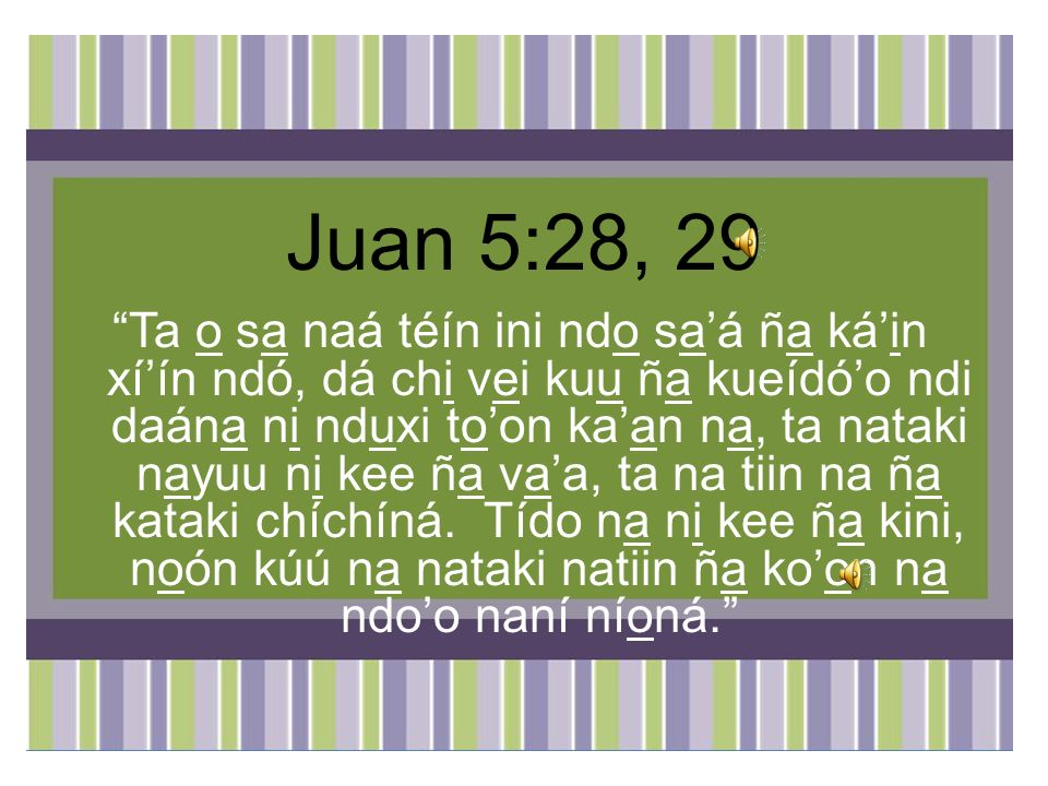 Juan 5:28, 29