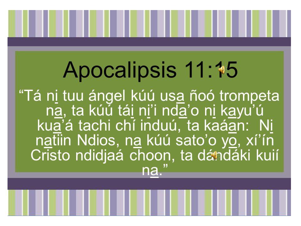 Apocalipsis 11:15