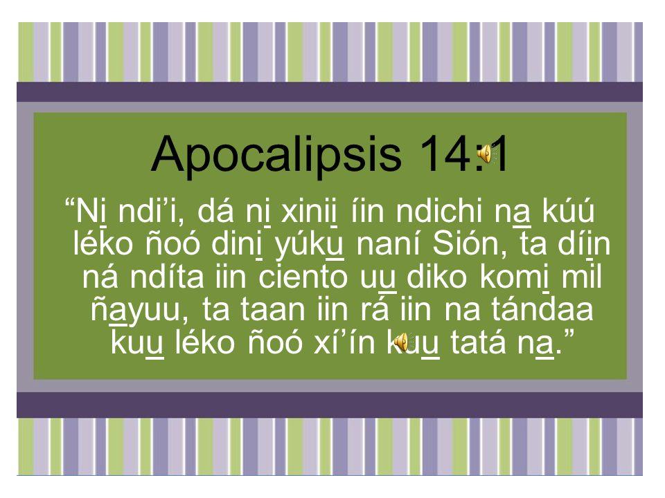 Apocalipsis 14:1