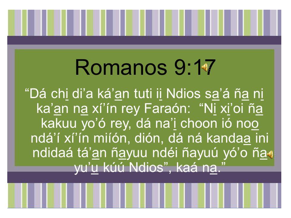 Romanos 9:17