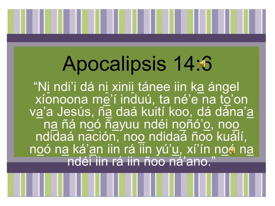 Apocalipsis 14:6