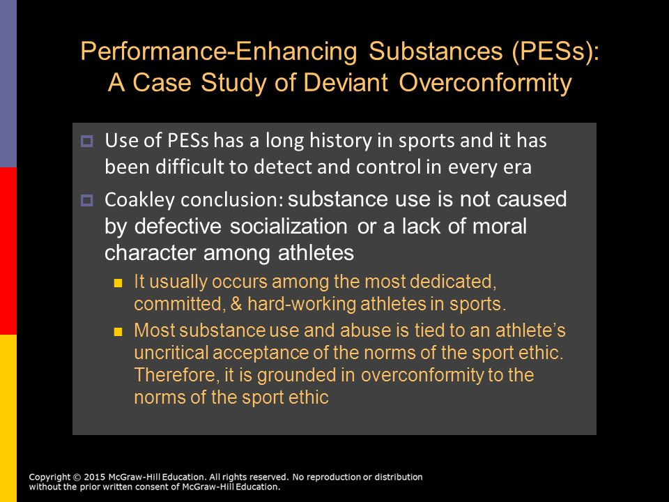 use of performance enhancing drugs among athletes San diego -- as division iii officials prepare to reduce the penalty for athletes who test positive for non-performance enhancing drugs saturday, new data released here wednesday showed that.