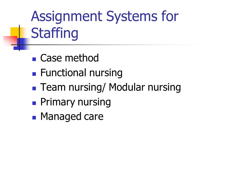 assignment medicine staffing