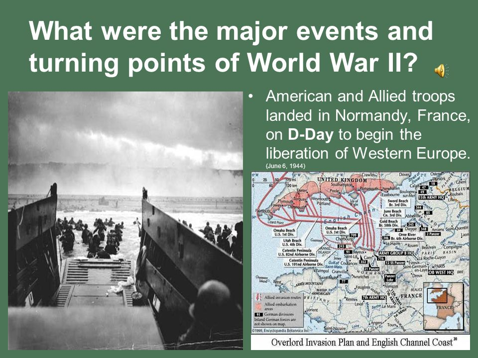 turning points of world war i The battle of stalingrad is considered by historians as a decisive turning point of  world war ii, during which german forces were defeated after.
