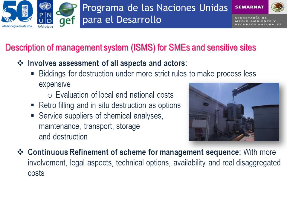 Description of management system (ISMS) for SMEs and sensitive sites