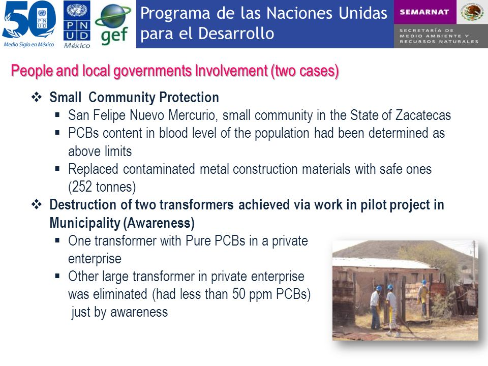 People and local governments Involvement (two cases)