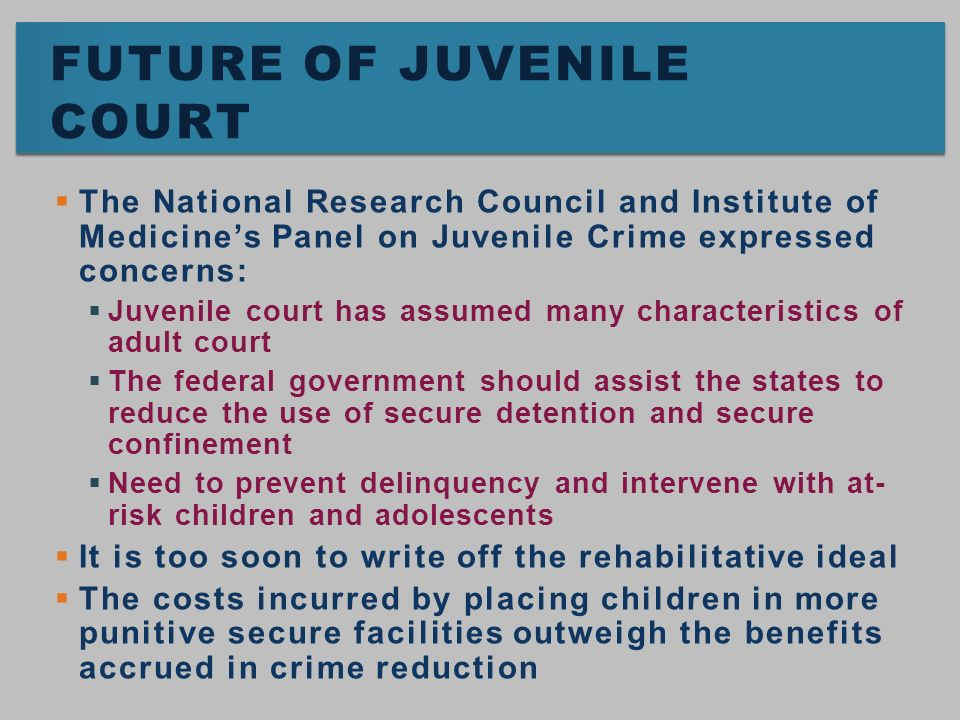 using education to prevent crimes in juveniles Juvenile crimes can range  the four types of control can help prevent juvenile delinquency are:  prevention through education aides the young people to interact.