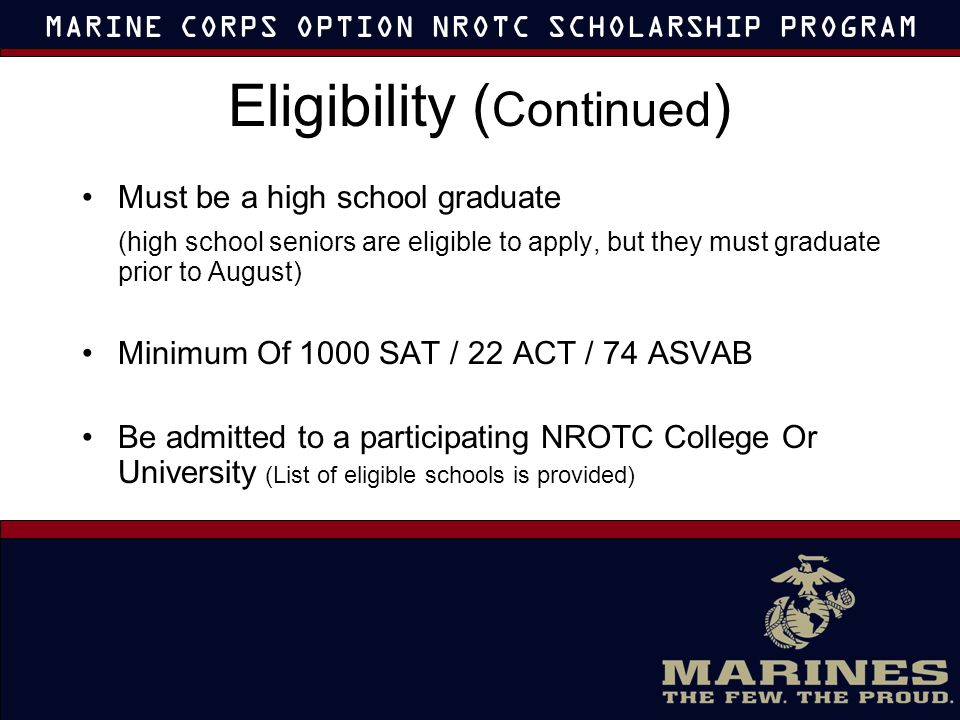 when do nrotc selection boards meet
