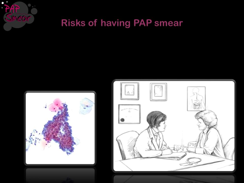 Risks of having PAP smear