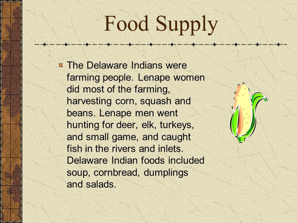 Delaware Indian Food